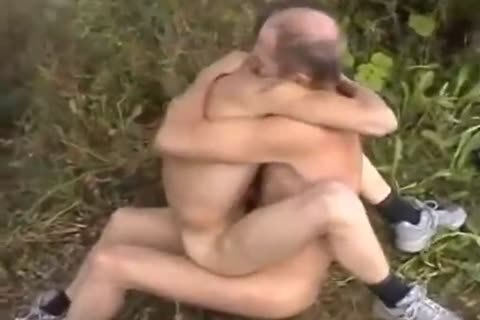 mature dude gangfucking younger boy Outdoor